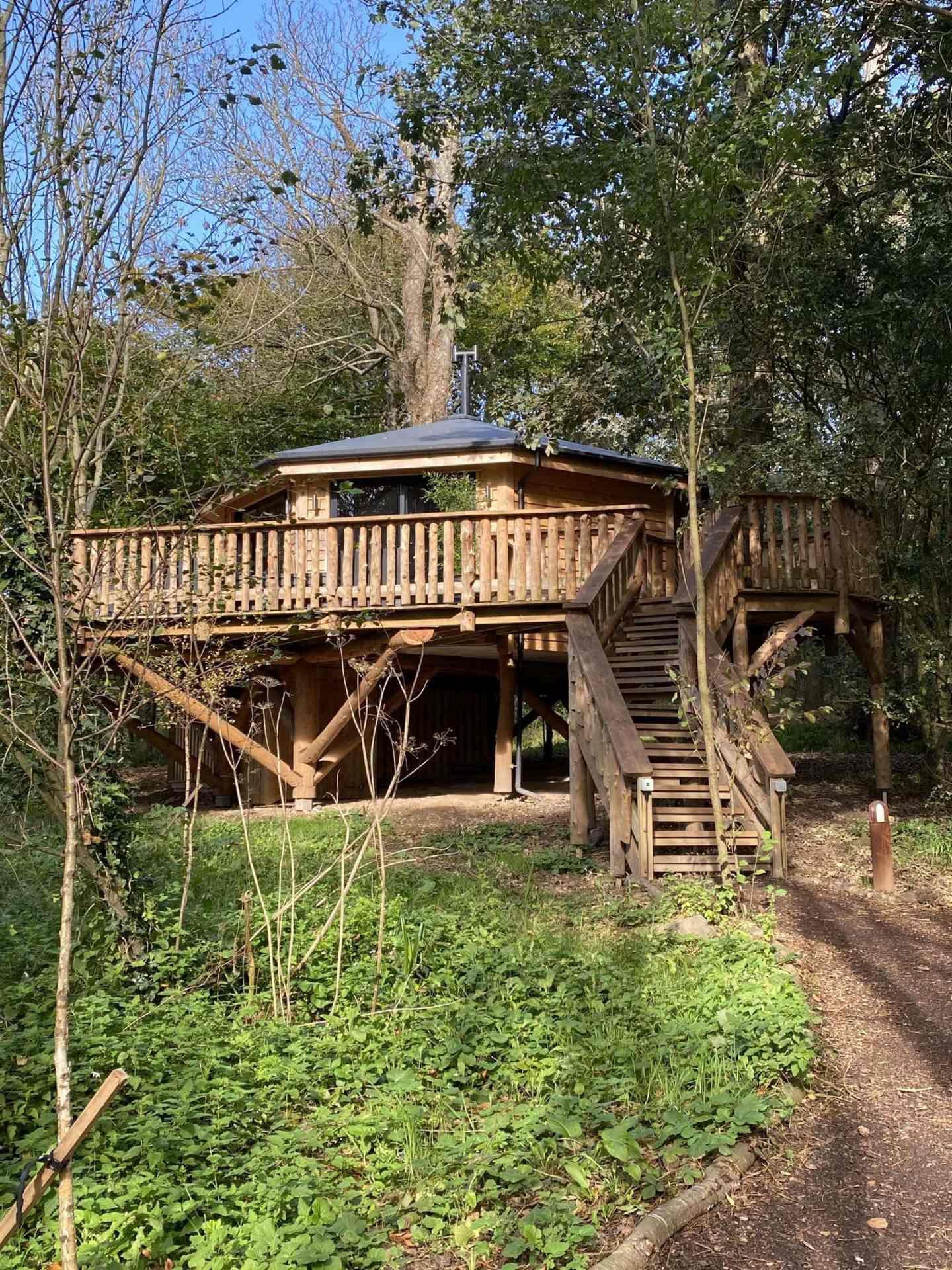 A Treehouse Weekend Break – Pickwell Manor, North Devon