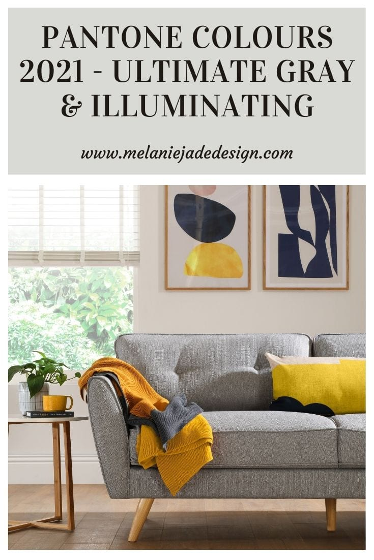 pantone colours of the year 2021 - ultimate gray and illuminating