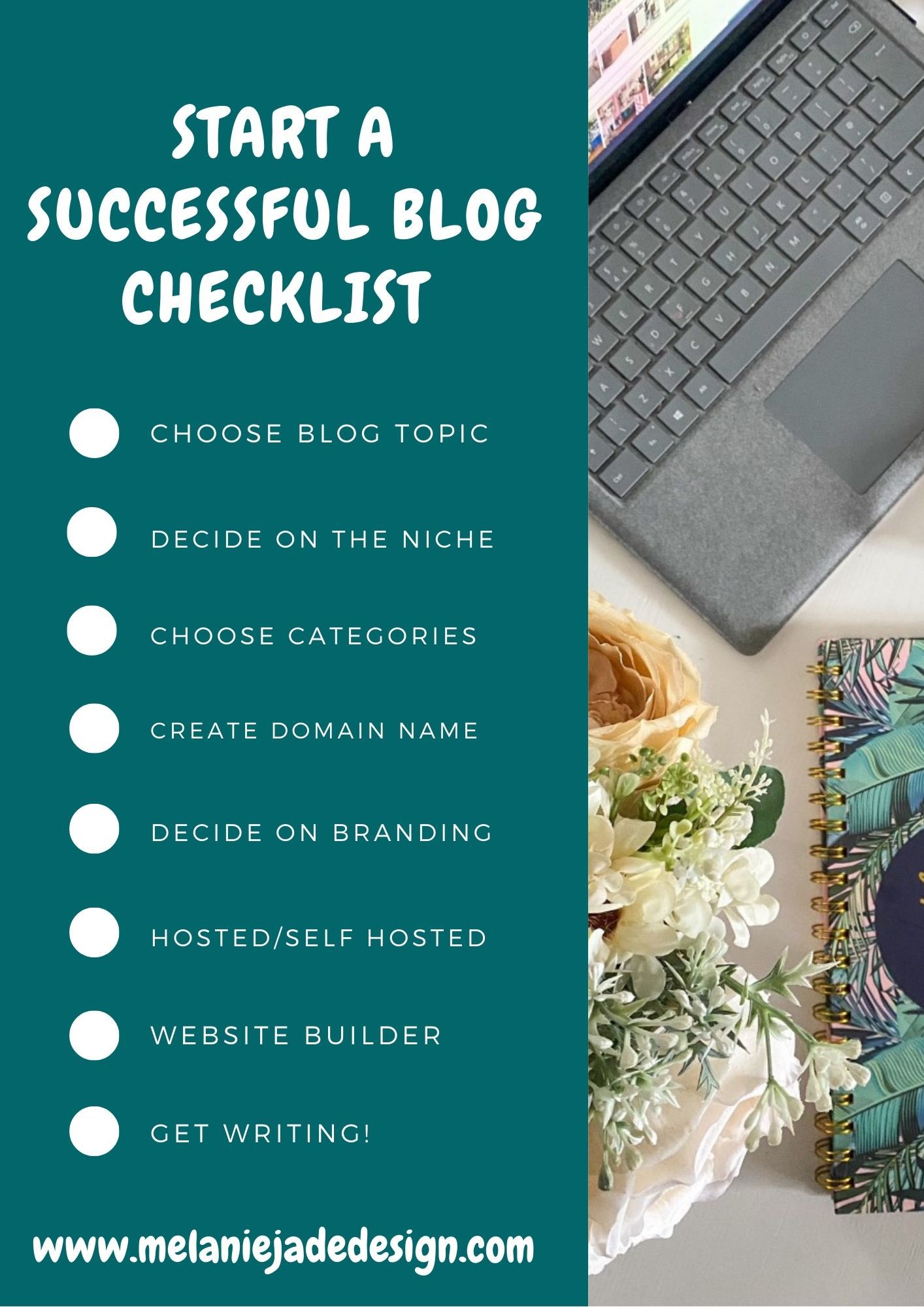 start a successful blog checklist