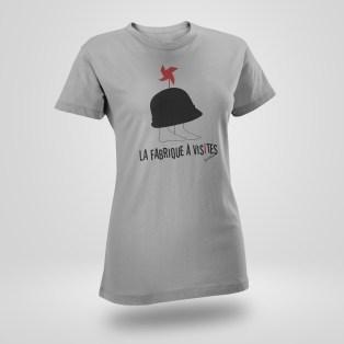 T shirt La Fabrique à Visites
