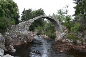 Old bridge at Carrbridge