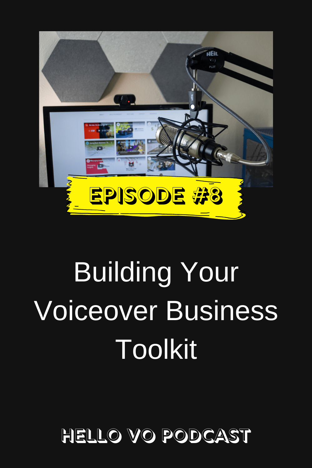 Hello VO episode 8 building your voiceover business toolkit