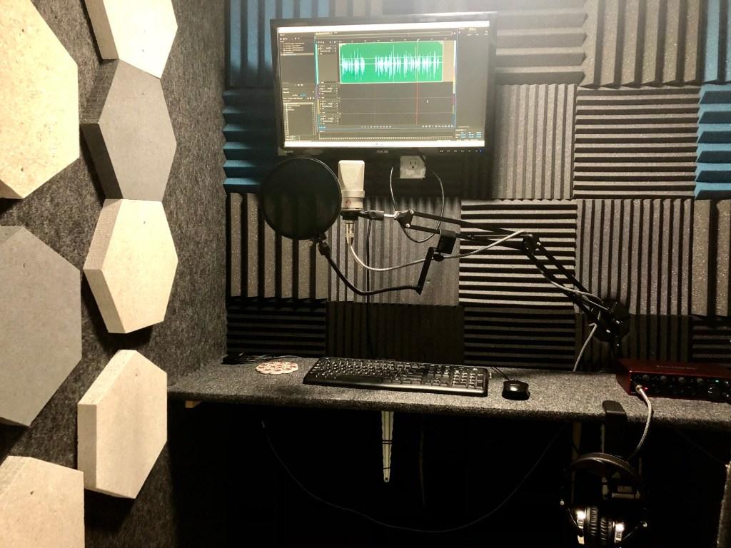 remote voiceover home studio