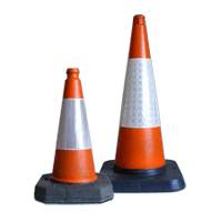 Melba Swintex Traffic Cones