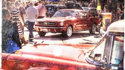 St Kilda. Il Fathers Day classic car show