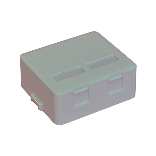 Dual Keystone Surface Mount Enclosure with Shutter