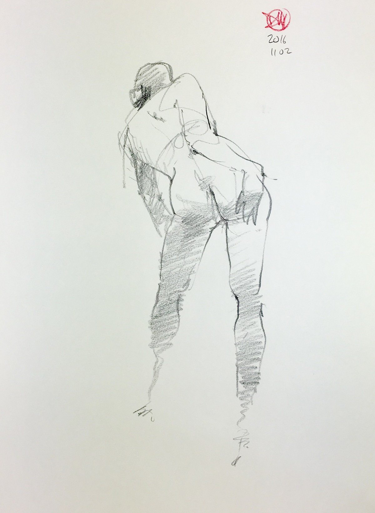 More life drawing from last week