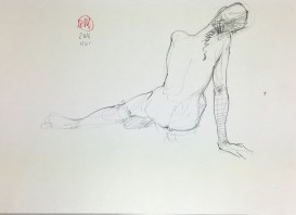 Meldrum - life drawing #2