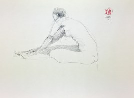 Meldrum - life drawing #4