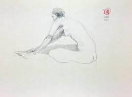 Meldrum - life drawing #4