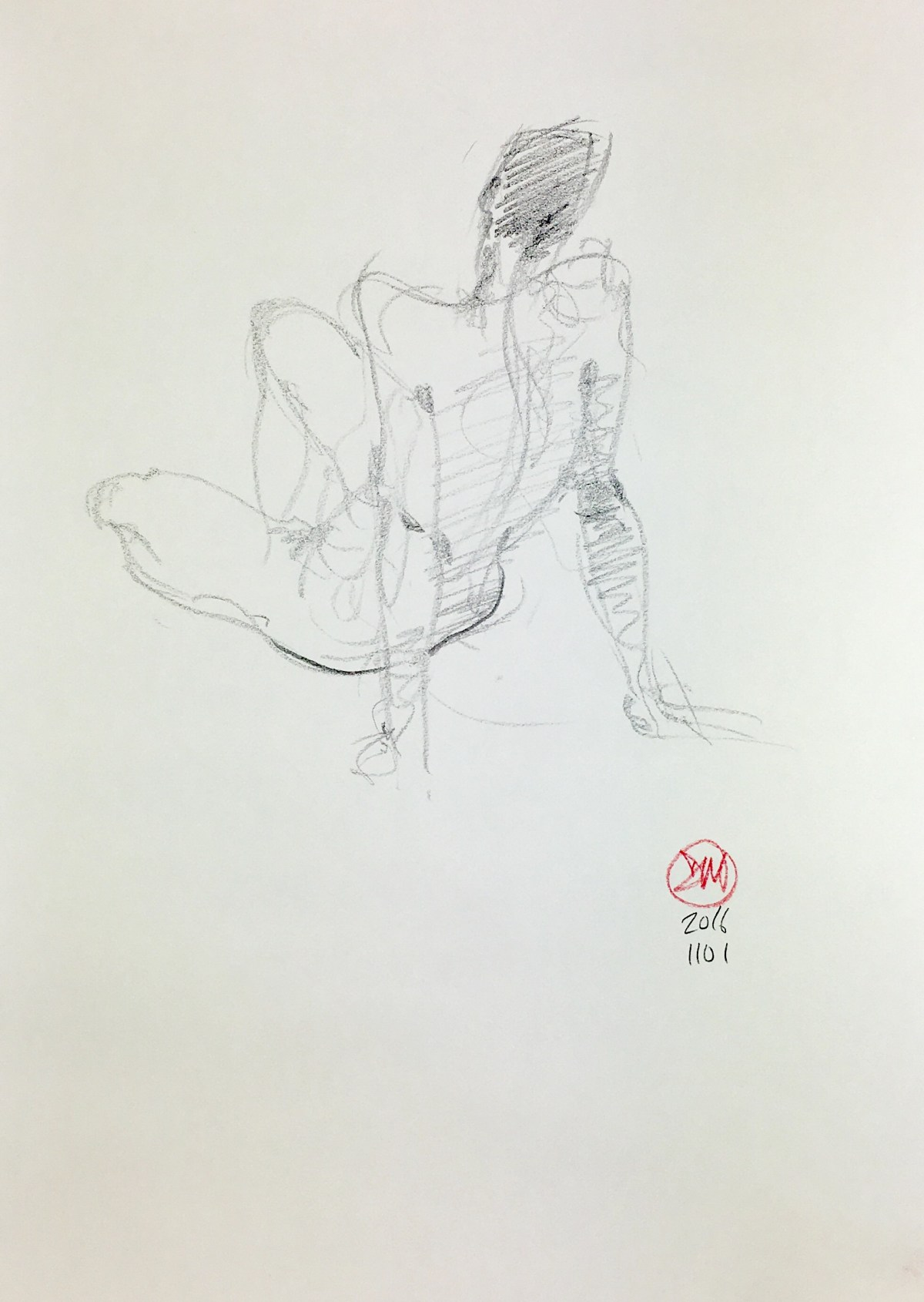 Life drawing last week