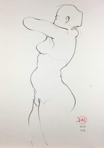 a life drawing by david meldrum