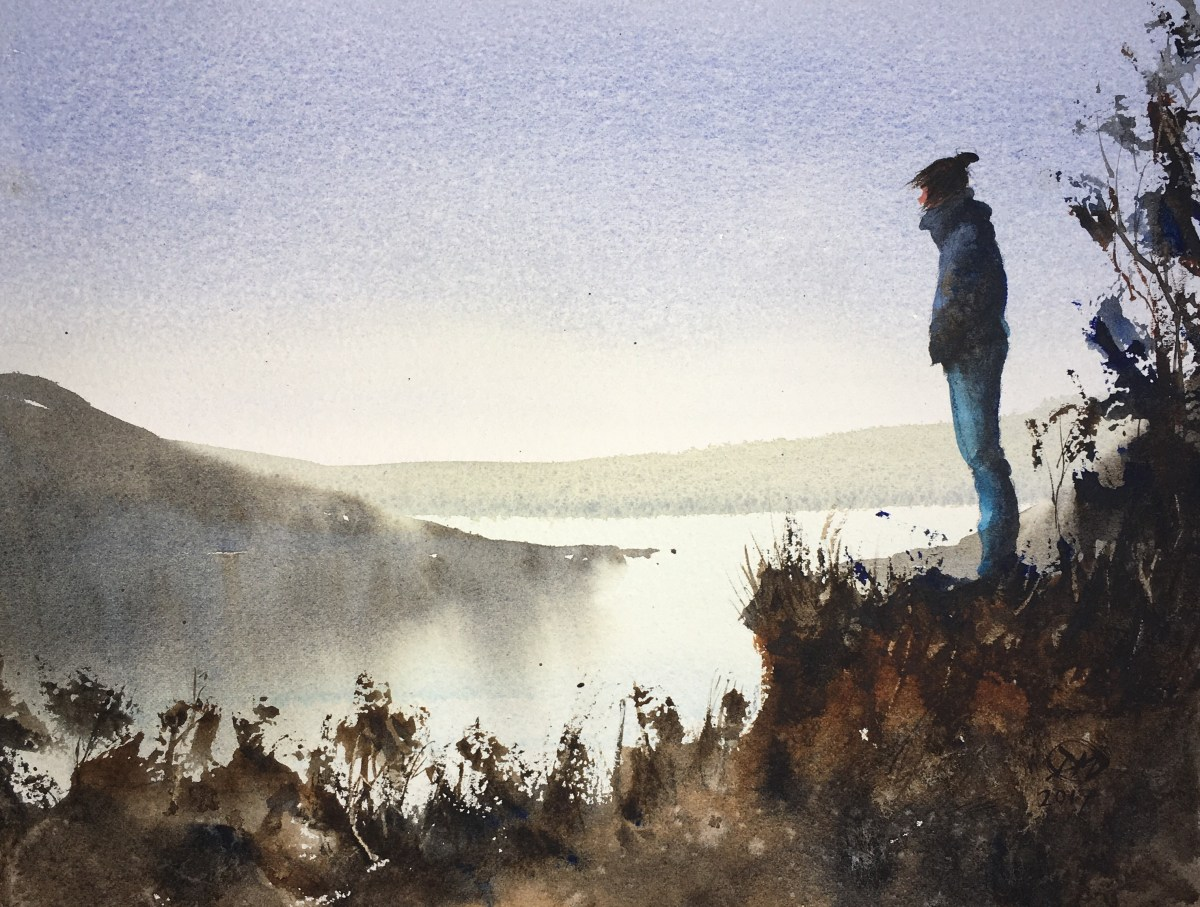 A watercolour at last