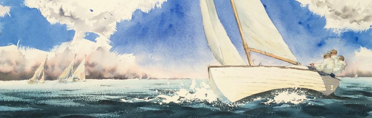 Folkbåt regatta nr.3