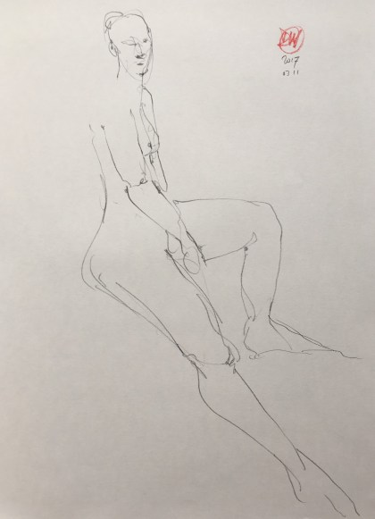 david meldrum life drawing