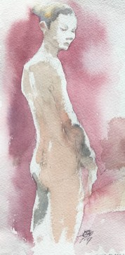 life drawing by meldrum