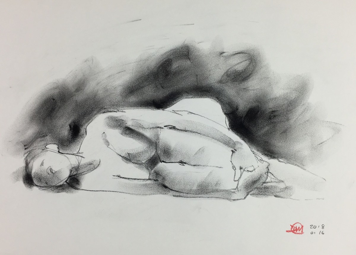 This year's s first life drawing