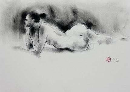 david meldrum life drawing