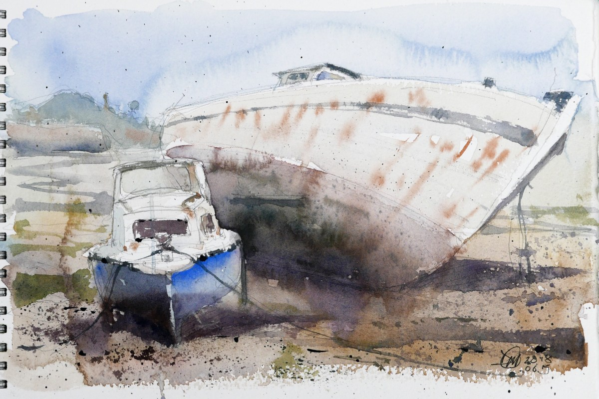 Last sketch from a Paimpol