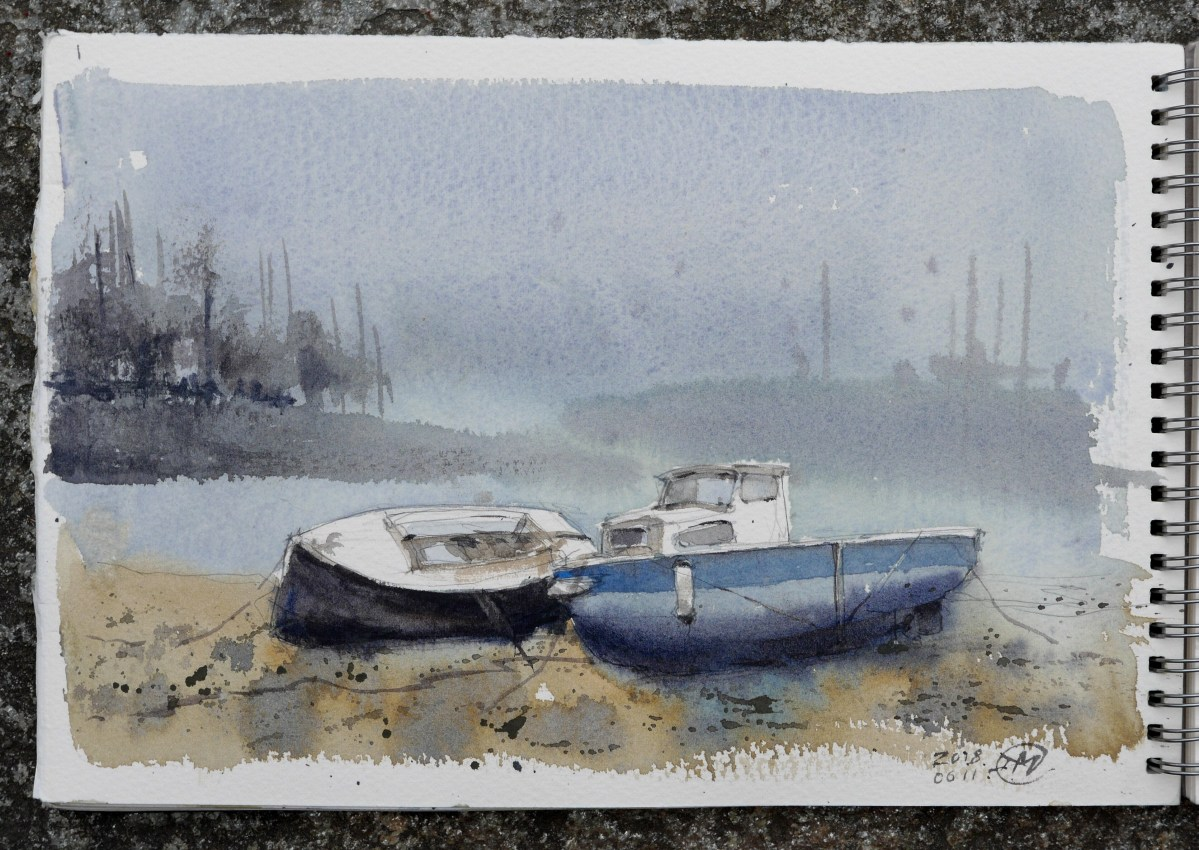 Sketching in Brittany