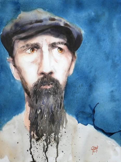 Meldrum Art portrait practice