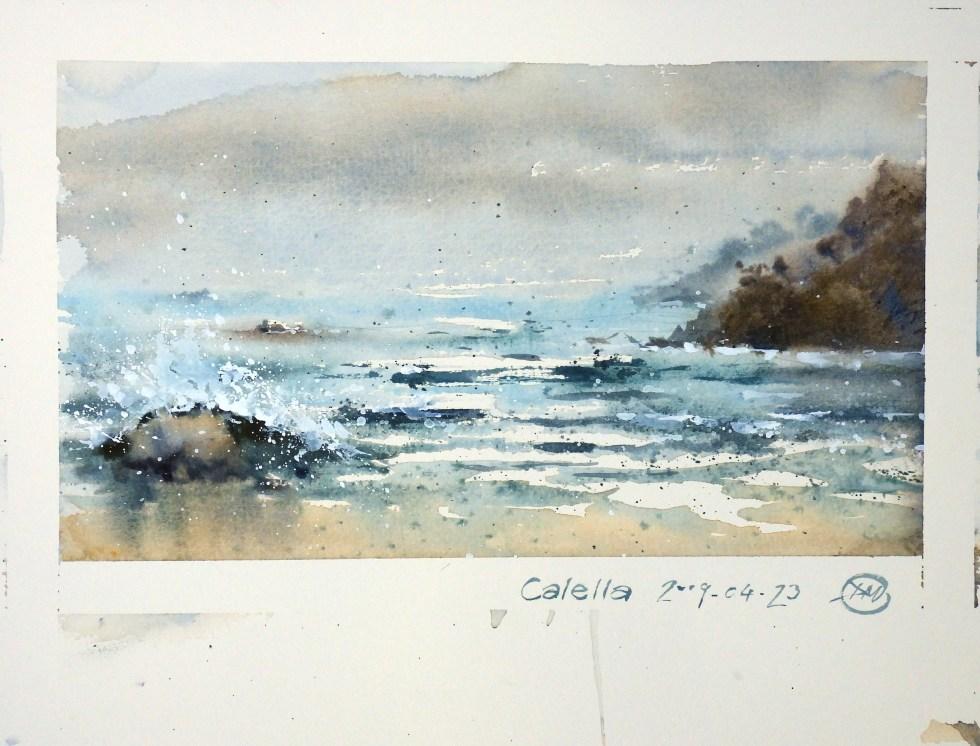 Calella sea view