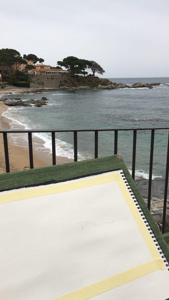 Sketching in Calella