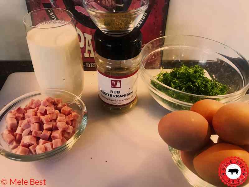 White asparagus quiche