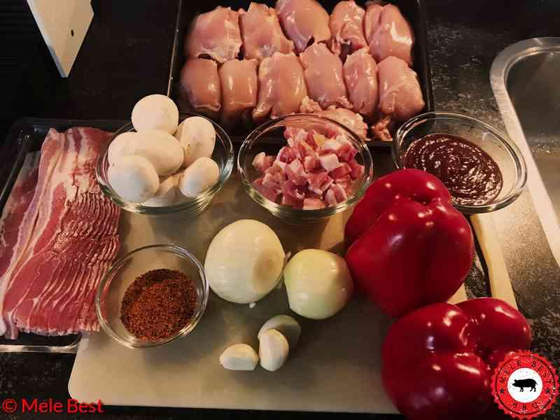 Hühnerschenkel kuchen