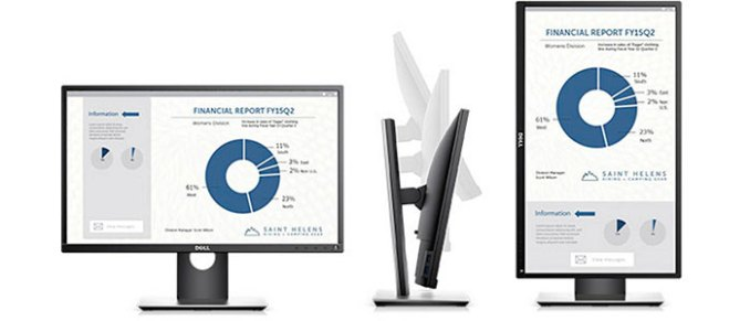 Dell P2317H análise