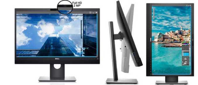 Monitor para videoconferencia dell P2418HZ