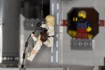 Tim beobachtet die Flucht von Luke und Leia vor den Sturmtruppen