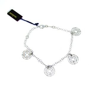 bracciale donna argento bigiotteria italy