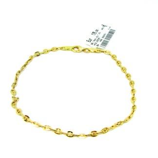 bracciale uomo oro giallo oreficeria