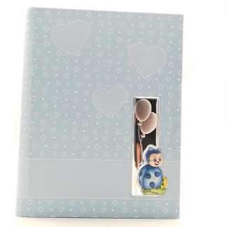 Album bambino ecopelle argento  Coccinella Valenti V/73555/3C