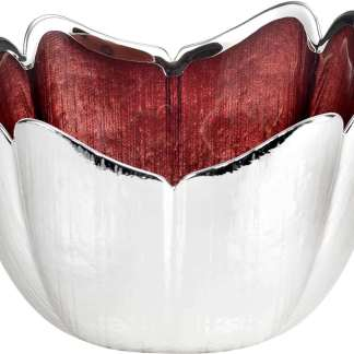 Piatto  vetro argento   Argenesi 0.02258
