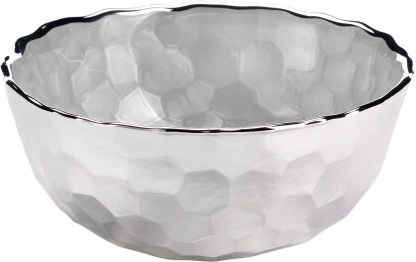 Piatto  vetro argento   Argenesi 3.180114
