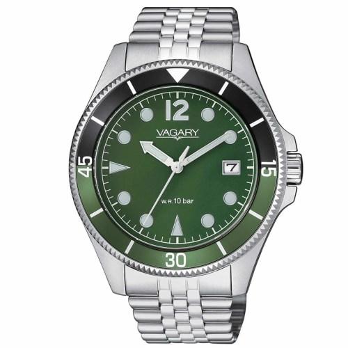 Orologio uomo Vagary Aqua 39 Acciaio VD5-015-41