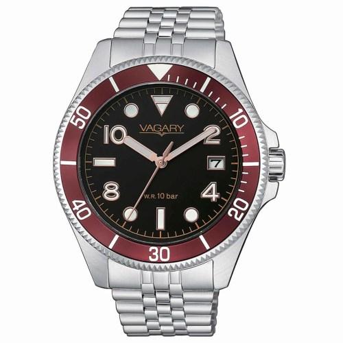 Orologio uomo Vagary Aqua 39 Acciaio VD5-015-53