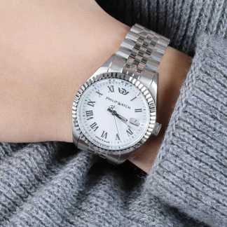 Orologio donna acciaio acciaio zaffiro Caribe Philip Watch R8253597566