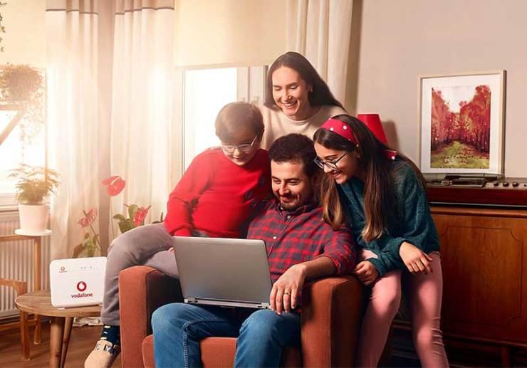 Vodafone Türkiye Ev internetinde yeni dönem