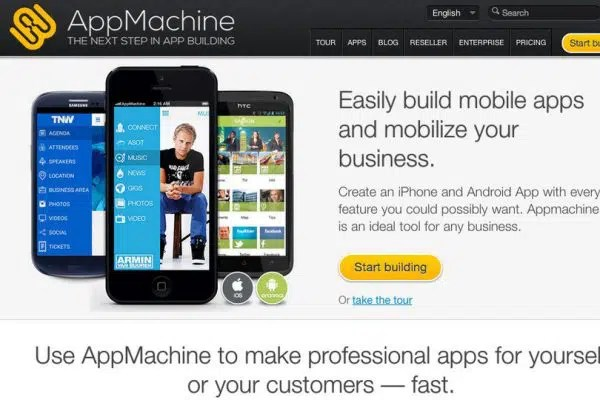 Mobile Application with AppMachine