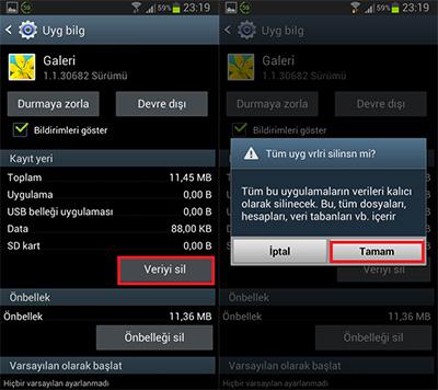 Galaxy S3 Galeri Sorunu Resimli Anlatım