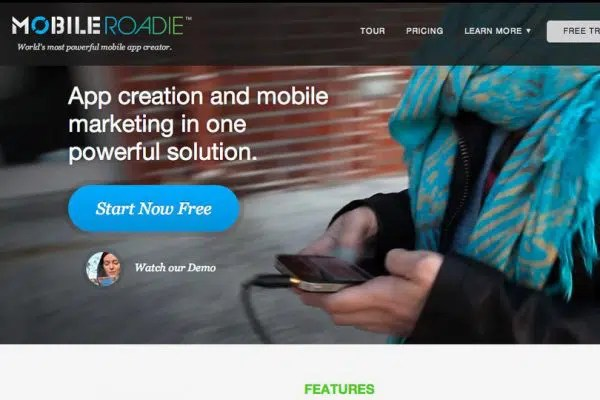 Making Mobile Applications with MobileRoadie