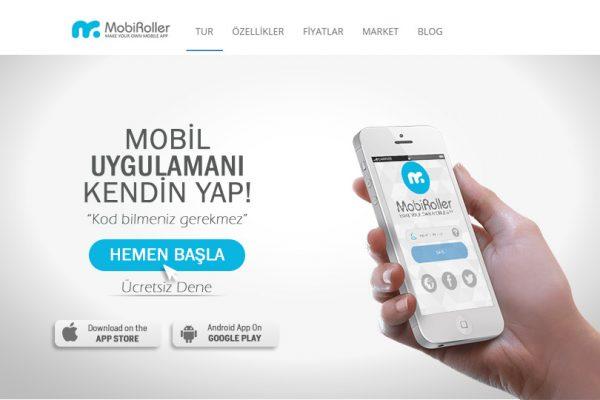 MobiRoller ile Mobil Uygulama Yapma