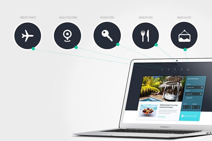 Oteliniz İçin 10 Mükemmel WordPress Teması
