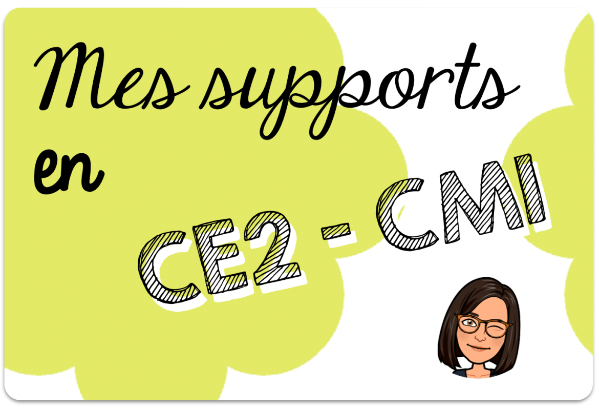 Mes supports CE2 - CM1