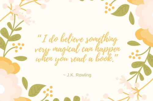 J.K. Rowling book quote
