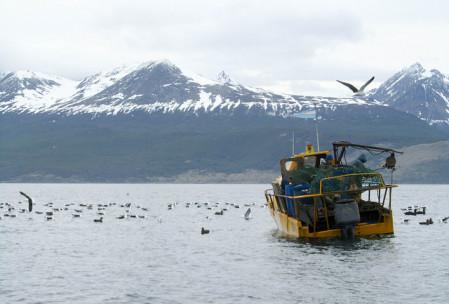 Pescadores de centollas