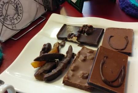 Chocolate maravilhoso no Ovejitas